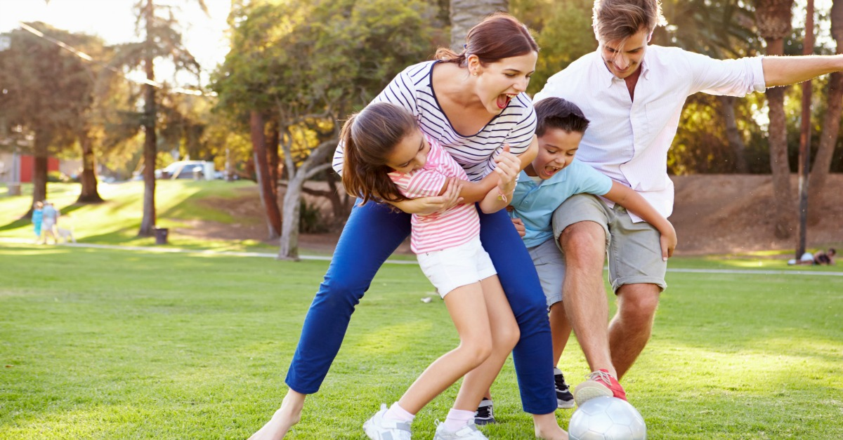 the advantages of family outside games for kids warp2 games